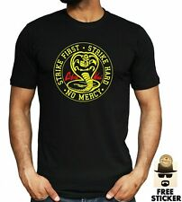 Cobra Kai T-shirt Karate Movie Kung Fu Martial Arts Retro Gift Tee Top ALL SIZES