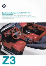 BMW Z3 Roadster Prospekt 1997