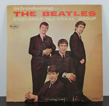 The Beatles VJLP 1062 Introducing The Beatles Vee Jay Mono Black & Silver Label