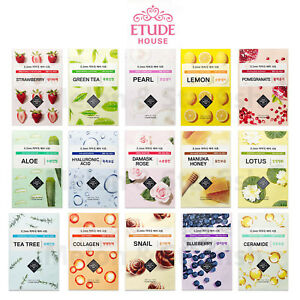 ETUDE HOUSE 0.2 NEW Therapy Air Face Mask Sheet (1 Sheet) - *UK Seller*