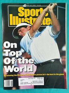 1992 Masters Golf Sports Illustrated - Fred Couples 04/20/92 - Augusta National