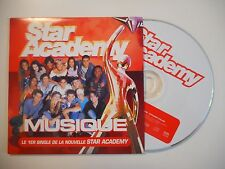 STAR ACADEMY : MUSIQUE (LE 1er SINGLE) (MICHEL BERGER) [ CD SINGLE ]