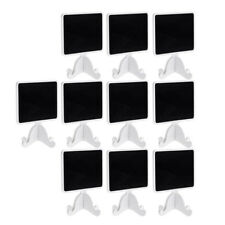 10pc Mini Chalkboard Wedding Party Table Number Food Signs Decor Blackboard