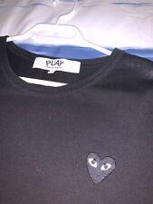 Commes Des Garcon Black Replica Tee Shirt Mens Large