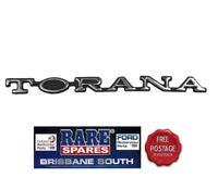 "HOLDEN ""TORANA"" LX FRONT PANEL BADGE SS SLR A9X L34 HATCH SEDAN RARE SPARES"