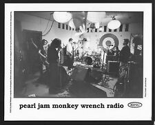 VINTAGE ORIGINAL Ltd Edition Promo Photo 8x10 Pearl Jam Monkey Wrench Radio 1995