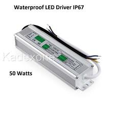 Waterproof LED Driver 50 w  Watt 12 v volt IP67 power supply transformer outdoor