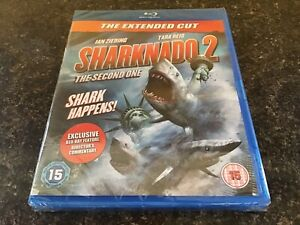 Sharknado 2 two - The Second One Blu ray NEW SEALED The Extended Cut + Sp feat.
