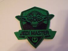 Jedi Master Star Wars Green Iron-On Patch