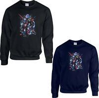 Avengers Jumper,Superhero Ironman Thanos Thor Marvel Comics Gift Adult Kids Top