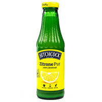 "Hitchcock -Zitronensaft ""Zitrone Pur"" 100% Direktsaft Saft aus 15 Zitronen 0.5 L"