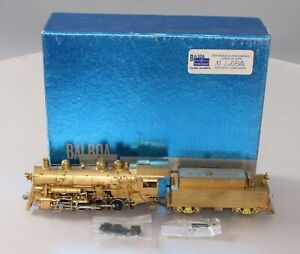 Balboa HO Scale Brass Southern Pacific 0-8-0 Class SE4 Steam Loco & Tender EX