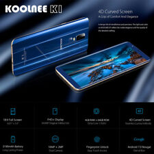 6,01'' KOOLNEE K1 Téléphone 4Go+64Go Android 7.0 16MP Octa-Core 4G Smartphone FR