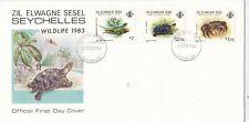 More details for zil elwagne sesel seychelles 1983 wildlife fdc unaddressed vgc