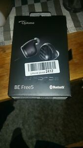 Optoma TECHNOLOGY NuForce BEFREE5-BLACK Optoma Be Free5 Truly Wireless Earbuds