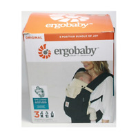 SHELF DEMO Ergobaby Bundle Of Joy Easy Snug Infant Insert Black & Camel Free S/H