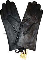 Women's Genuine Lambskin Leather Sheepskin Gloves Winter Warm Soft Lined Driving