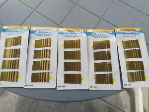 48 SILVER HAIR GRIPS KIRBY/ BOBBY PINS/SLIDES HAIR CLIPS FASHION ACCESSORIES NEW