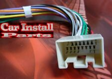 Ford Radio WIRE HARNESS INSTALL STEREO PLUG 98-UP