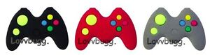 """Video Game Controller Mini for American Girl Boy 18"""" Doll Accessory US SLR 🐞"""
