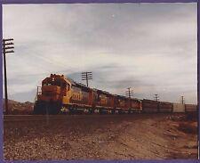 1983 Sante Fe ATSF SD45 Locomotive #5376 - Vintage Color Railroad Photo