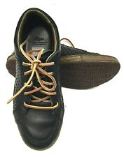 Cushe Shumaker's Mark Black Leather Mens Casual Sneakers Size 9.5 US