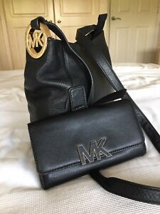 Michael Kors Crossbody Bag And Purse /Wallet