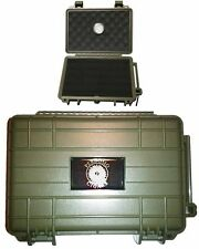 Perdomo VC05GRN 5 Cigar Travel Humidor by The Vault Case Company Limited Green