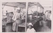 RPPC,Oruro,Bolivia,So.America,Aymara Women Selling at the Public Market,c.1920s>