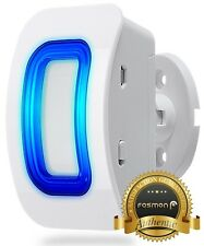Fosmon [Add-On] Driveway Wireless Motion Sensor Detector [For Wireless Doorbell]