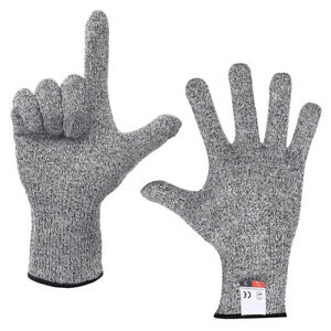 Safety Cut Resistant Gloves Level 5 Protection for Kitchen Restaurants Butchers