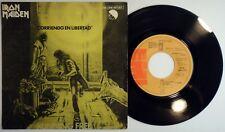 "7"" IRON MAIDEN - RUNNING FREE • Spain 1980 Orig 1sT PROMO* CORRIENDO EN LIBERTAD"
