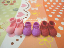 Doll Shoes ~ Middle Blythe Cute Doll Shoes 3PAIRS SET #M-109 NEW