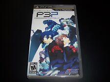 Replacement Case (NO GAME) SHIN MEGAMI TENSEI P3P PERSONA'S SONY PSP UMD Box
