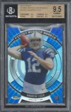 ANDREW LUCK 2012 TOPPS FINEST ATOMIC REFRACTOR DIE CUT ROOKIE RC BGS 9.5 GEM MT