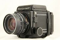 【EXC+5】 MAMIYA RB67 Pro S + SEKOR C 65mm f/4.5 +120 filmback from JAPAN