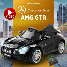 Kids Ride On Car Licensed Mercedes-Benz AMG GTR Electric Cars Toy Battery Remote