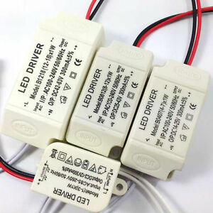 AC-DC Transformator LED Driver Netzteil Trafo 1-3W 4-7W 8-12W 12-18W 300mA