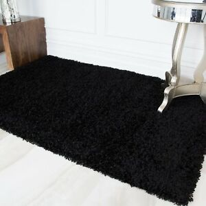 Super Soft Non Shed Thick Plain Easy Clean Cheap Living Room Area Shaggy Rugs