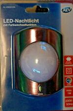 REV Ritter Nachtlicht mit Farbwechsler LED Regenbogen Steckdose 1W
