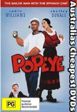 Popeye (Robin Williams) DVD NEW, FREE POSTAGE WITHIN AUSTRALIA REGION ALL