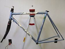 2004 Fuji Roubaix Pro Reynolds 853 steel bicycle frame carbon fork 54cm WSD