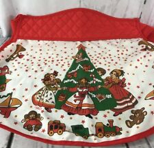 Vintage Gourmet Gallery B&D cotton/polyester Apron Christmas Christmas Tree Toys