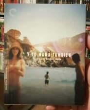 Y Tu Mama Tambien 2001 Blu-Ray + Dvd Criterion Collection #723 Dual Format Oop