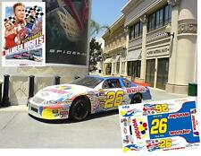 CD_2955 #26 Ricky Bobby Wonder Bread 2006 Chevy  1:64 Scale Decals