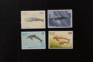 Sri Lanka #658-61 1983 VF MNH whales set 2020 cv$16.00 (v025)