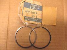 John Deere Kioritz Nos/Oem Piston Ring Set Pair #Am53049 Am 53049 Snowmobile