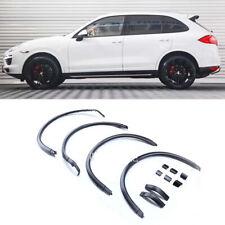 For Porsche Cayenne GTS 15-17 Fender Wheel Eyebrow Protector Wheel Arch Strips