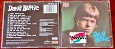 DAVID BOWIE DAVID BOWIE CD ALBUM DERAM (1987) WEST GERMANY PDO ADRM REMASTER