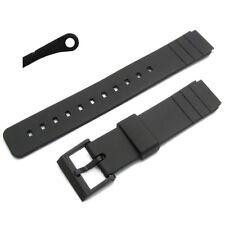 Cinturino Orologio 16 mm resina 260F10 per Casio AQ42 LDP800 MD712 MQ15w MQ24 MQ77